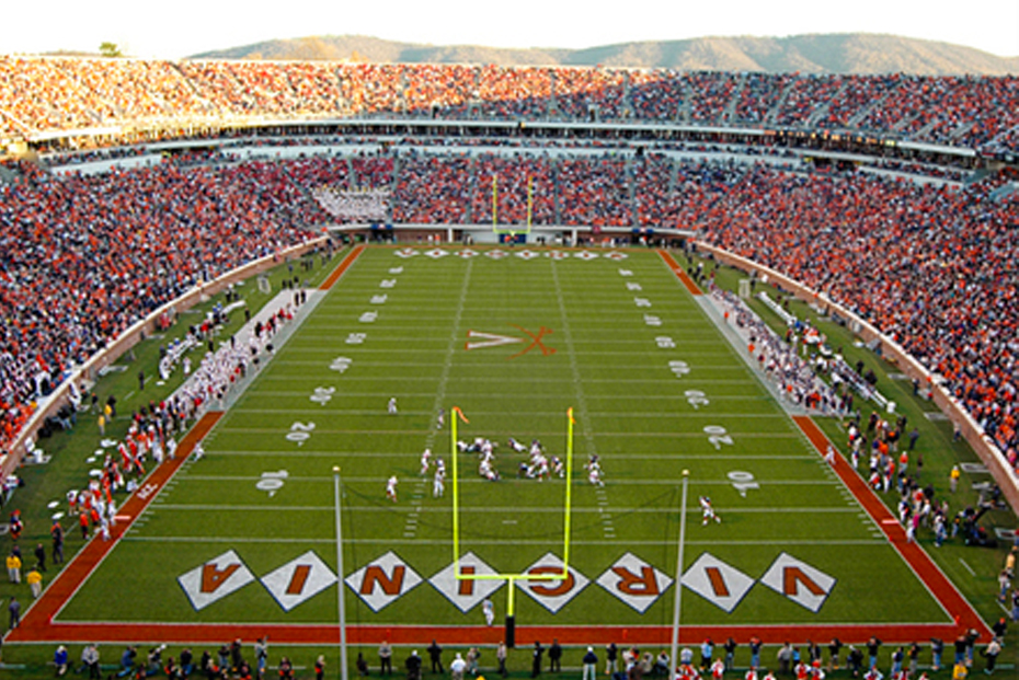Walk to UVA Sporting events and Scott Stadium from a Guesthouses property