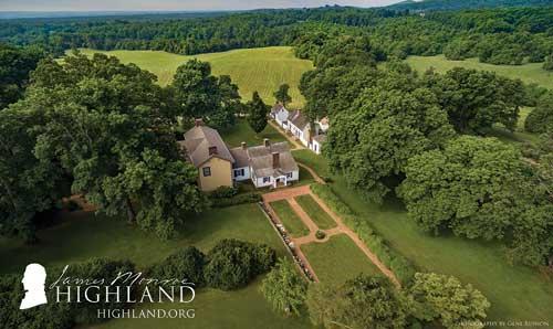 James Monroe's HIghland near Charlottesville, VA