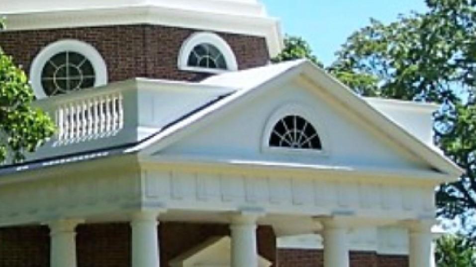 Monticello near Charlottesville, VA
