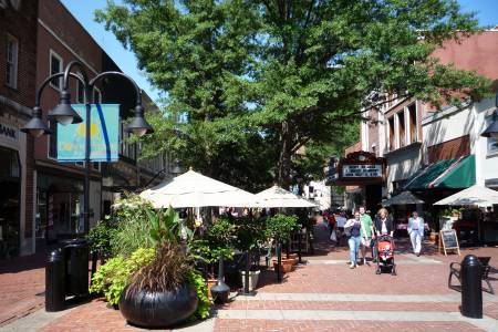 downtown mall charlottesville