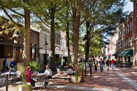 Downtown Charlottesville, VA