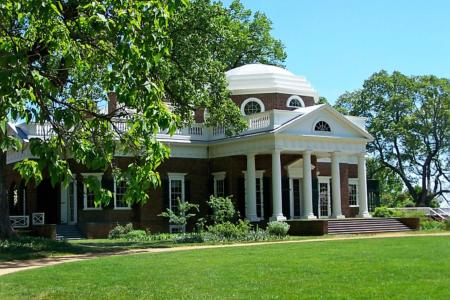 Monticello - Visit historical sites from our Guesthouses properties