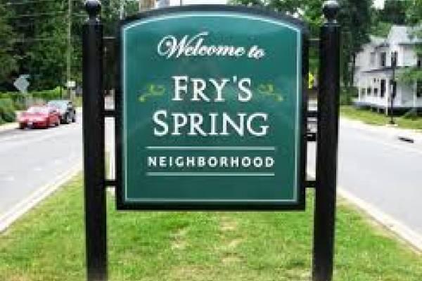 Fry's Spring neighborhood in Charlottesville, VA