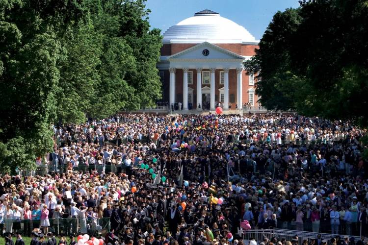 UVA Graduation Photo