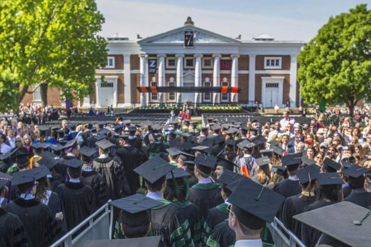 Stay with VA Guesthouses rentals during University of Virginia's graduation weekend in May