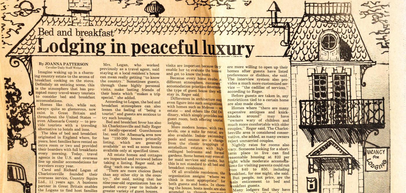 Guesthouse original newspaper article