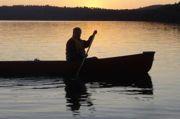 Canoeing in Charlottesville, VA
