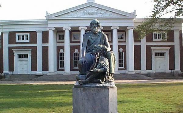 UVA Statue in Charlottesville, VA