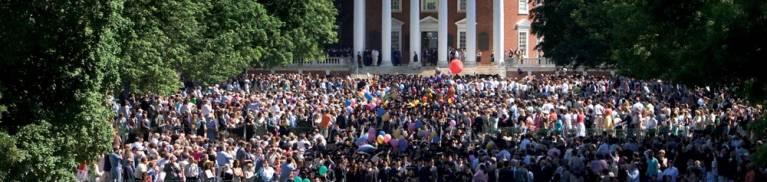 UVA Graduation Photo